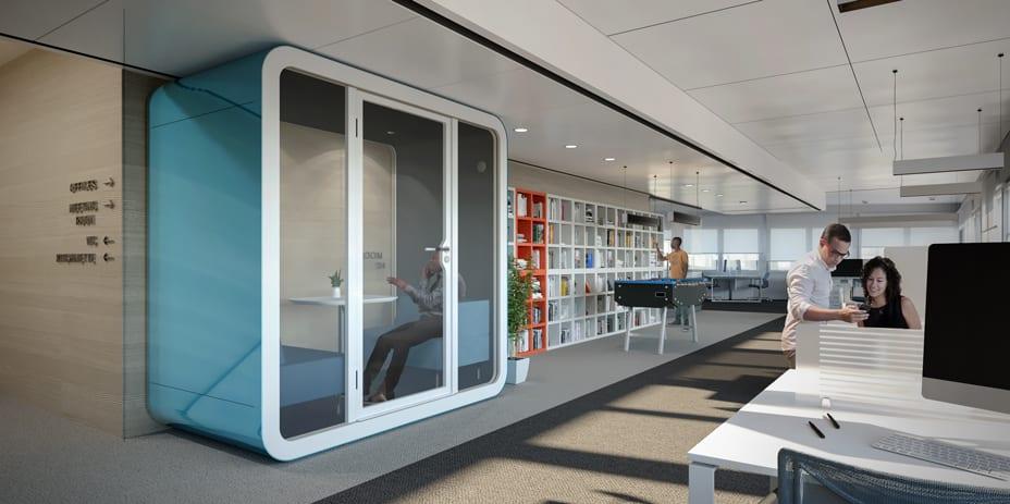 Digitaalinen mallinnus havainnollistaa esimerkiksi sitä, kuinka paljon julkisivun ikkunoista tulee sisään luonnonvaloa.