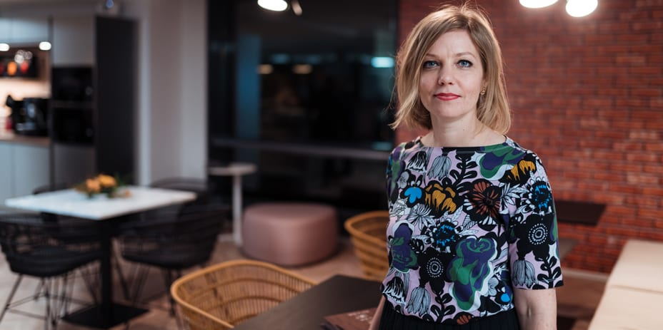 Spondan Senior Manager, Leasing and Customer Success Jenni Nivalainen.