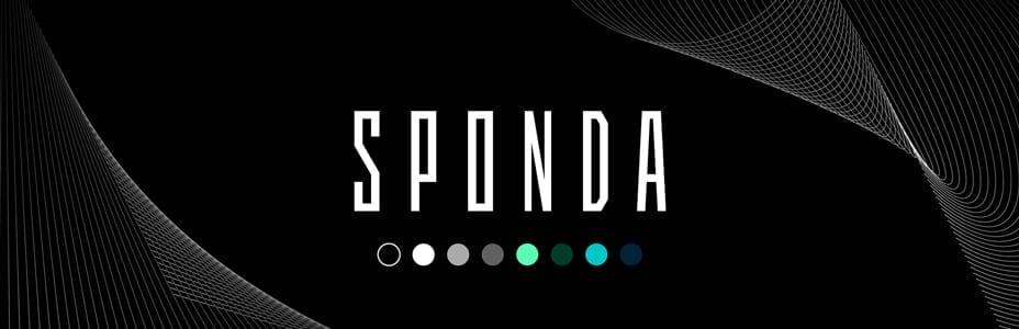 Klassisella värimaailmalla ja typografialla halutaan ilmentää Spondan korkeatasoista osaamista ja asiantuntijuutta.